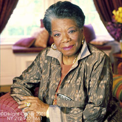 Picture of Maya Angelou, Writer and Poet