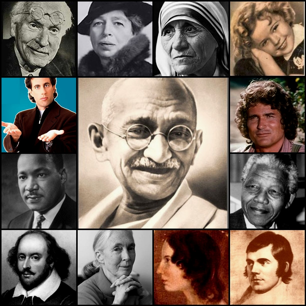 Famous INFJs - Individual Differences Research Labs