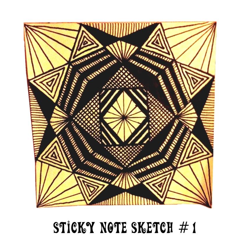 Sticky Note Sketch #1