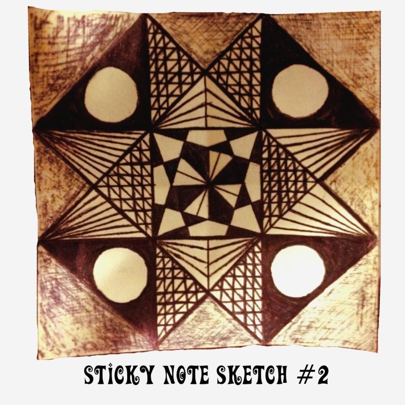 Sticky Note Sketch #2